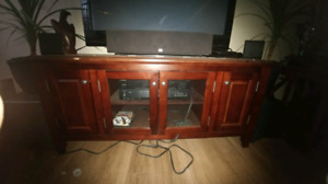 Tv stand some minor damage asking 100obo