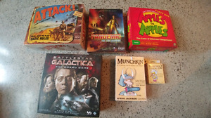 Selling board games.