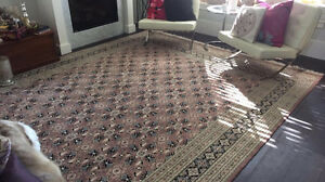 Persian Wool & Silk Rug- Moving Sale!