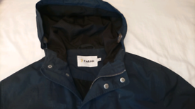 Farah mens waterproof jacket S blue anorak