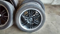 17 inch rims with 215/45/17 tires in excellent condition