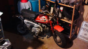 all original 1975 honda z50