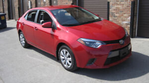 2015 TOYOTA COROLLA LE -ONLY 26,240 KMS!! NO ACCIDENTS -1 OWNER!