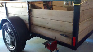 Well Built 5'x8' Utility Trailer Needs New Home Peterborough Peterborough Area image 4