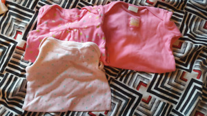 Baby Girl Nightgowns 0-3M