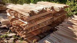 oak bow latts for lobster traps