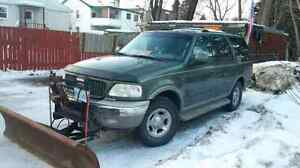 2000 ford expedition with plow