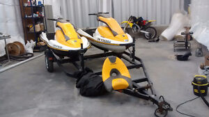 2-sea Doo 3d with double trailer