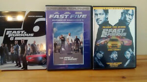 Fast and the Furious DVD's 1-6