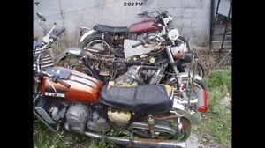 Looking for Old wrecked/rusted out  motorcycles
