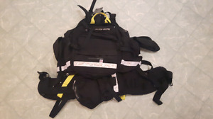 Coaxsher Wildland Fire Pack and Radio Chest Harness