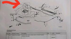 Prise d'air de capot pour Civic Type R 2017