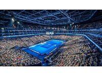 ATP World tour finals Tickets Wednesday Evening