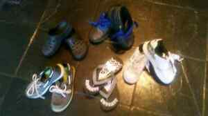 5 Pairs size 2 boys shoes