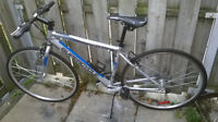 """SUPERCYCLE TEMPO ALUMINUM FRAME AND WHEEL 700C"""" - $145 (TORONTO)"""