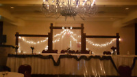 Wedding backdrop/arch