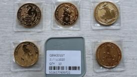 Gold Britannia & Sovereign bullion coins, bars wanted, spot price paid