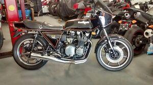 KAWASAKI Z1R 1000 1980 FRAME PAPIERS 900$ KZ900 KZ