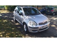 TOYOTA YARIS 998 CC LOW INSURANCE AUTOMATIC NOT NISSAN FORD VAUXHALL PEUGEOT HONDA