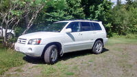 2007 Toyota Highlander Limited AWD SUV, Crossover