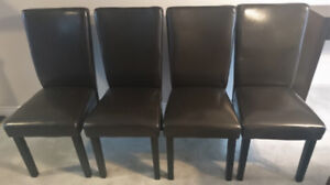 4 Dining Chairs (The Brick)