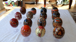 Great gift -Traditional Ukrainian Pysanka Easter Egg! $25. ea
