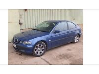 BREAKING BMW 320td compact 2003 (52) e46
