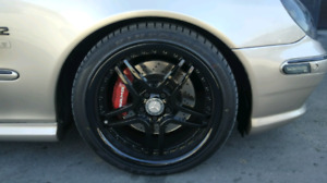 MERCEDES S CLASS RIMS AND TIRES NEW!!! 10/10
