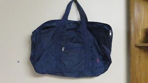 Nylon Tote Bag Navy (Great for swimming gear)