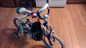 bicyclette de petite fille