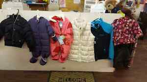 Girls snowsuit and winter jackets  London Ontario image 1