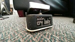 Vintage Jen mister cry baby wah/volume pedal