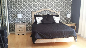 Fully furnished 2BR upper unit of house-all utilities included