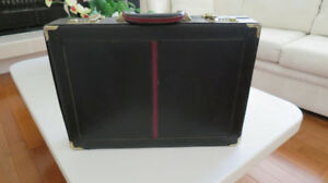 Brief Case in Black Leather