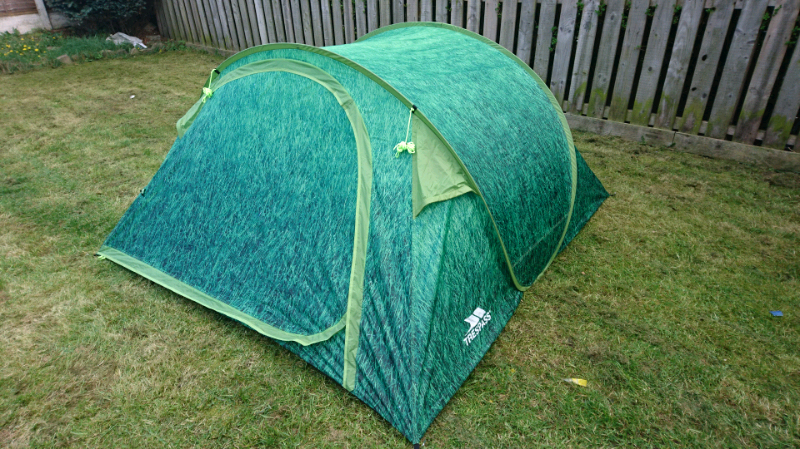 online store 40503 3ed0a trespass 4 man 1 room pop up tent, festival tent | in Sale, Manchester |  Gumtree