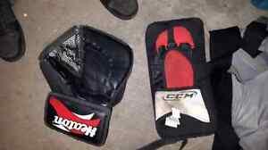 Road hockey equipment  text only please Sarnia Sarnia Area image 5