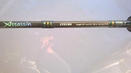 Canna da pesca Rapture Assassin casting monopezzo