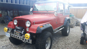1985 JEEP CJ FOR SALE