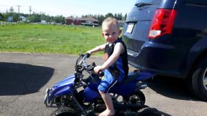 Kids 4 wheeler
