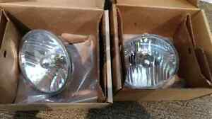 Jeep headlights. Jeep Sahara 2011