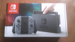 New Nintendo console switch neon grey