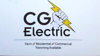 CG Electric for all electrical needs
