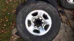 3 Dodge 2500 rims asking 200.00 each or 550.00 for all 3 firm.