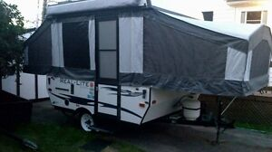2014 8 ft hard-top tent trailer (Real Life by Palomino)