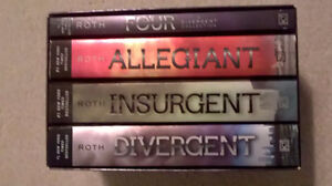 The Divergent Series Box Set - Veronica Roth Four Books