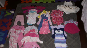 Barely used 3-6 month clothing