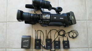 JVC GY HM 700 PROFESSIONAL DIGITAL CAMERA