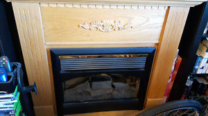 Electric fire place great condition