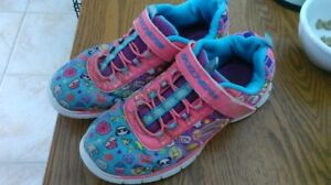 Girl's Skechers running shoes $35. used, almost new!