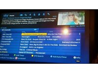 Zgemma 2s sky satellite box with 12 month gift